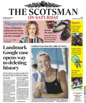 The Scotsman (UK) Newspaper Front Page for 14 April 2018