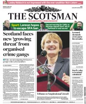 The Scotsman (UK) Newspaper Front Page for 14 May 2018