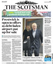 The Scotsman (UK) Newspaper Front Page for 14 June 2019