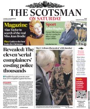 The Scotsman () Newspaper Front Page for 15 December 2018
