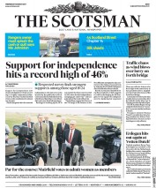 The Scotsman (UK) Newspaper Front Page for 15 March 2017