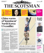 The Scotsman (UK) Newspaper Front Page for 15 April 2017