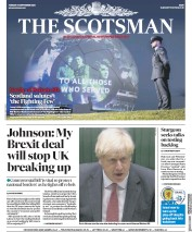 The Scotsman front page for 15 September 2020