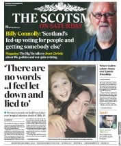 The Scotsman (UK) Newspaper Front Page for 16 November 2019