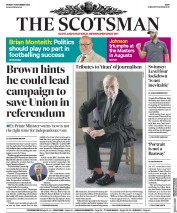 The Scotsman front page for 16 November 2020