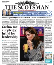 The Scotsman (UK) Newspaper Front Page for 16 January 2020