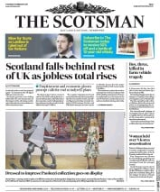 The Scotsman (UK) Newspaper Front Page for 16 February 2017