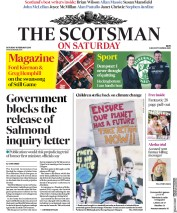 The Scotsman (UK) Newspaper Front Page for 16 February 2019
