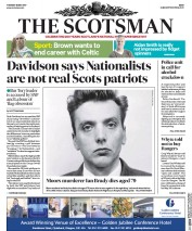 The Scotsman (UK) Newspaper Front Page for 16 May 2017