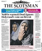 The Scotsman (UK) Newspaper Front Page for 16 May 2018