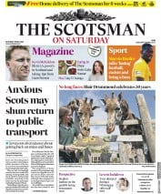The Scotsman (UK) Newspaper Front Page for 16 May 2020