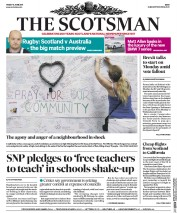 The Scotsman (UK) Newspaper Front Page for 16 June 2017