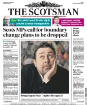 The Scotsman (UK) Newspaper Front Page for 17 October 2017