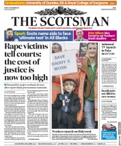 The Scotsman (UK) Newspaper Front Page for 17 November 2017