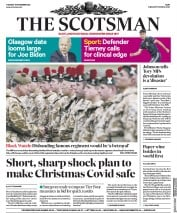 The Scotsman front page for 17 November 2020