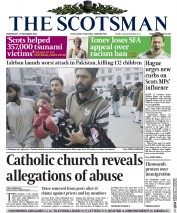 The Scotsman (UK) Newspaper Front Page for 17 December 2014