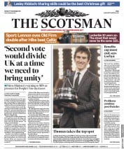 The Scotsman () Newspaper Front Page for 17 December 2018