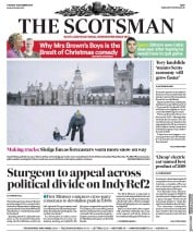 The Scotsman (UK) Newspaper Front Page for 17 December 2019