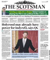 The Scotsman (UK) Newspaper Front Page for 17 January 2020