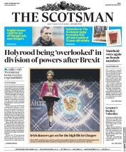 The Scotsman Newspaper Front Page (UK) for 17 February 2017
