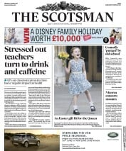 The Scotsman (UK) Newspaper Front Page for 17 April 2017