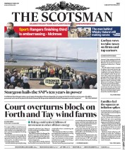 The Scotsman (UK) Newspaper Front Page for 17 May 2017
