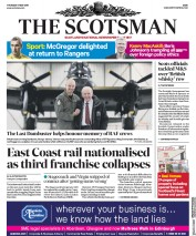 The Scotsman (UK) Newspaper Front Page for 17 May 2018