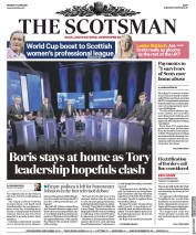 The Scotsman (UK) Newspaper Front Page for 17 June 2019