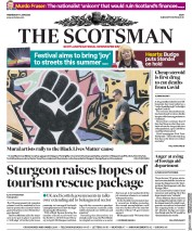 The Scotsman (UK) Newspaper Front Page for 17 June 2020