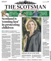 The Scotsman (UK) Newspaper Front Page for 17 July 2017