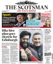 The Scotsman (UK) Newspaper Front Page for 18 November 2017