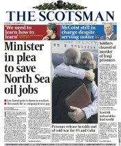 The Scotsman (UK) Newspaper Front Page for 18 December 2014