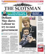 The Scotsman (UK) Newspaper Front Page for 18 December 2018