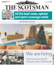 The Scotsman () Newspaper Front Page for 18 December 2019