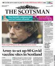 The Scotsman front page for 18 January 2021