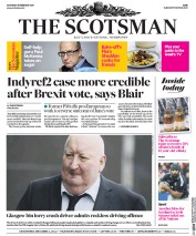 The Scotsman (UK) Newspaper Front Page for 18 February 2017
