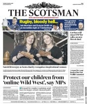 The Scotsman (UK) Newspaper Front Page for 18 March 2019