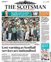 The Scotsman front page for 18 March 2021
