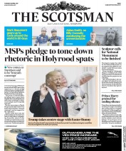 The Scotsman (UK) Newspaper Front Page for 18 April 2017