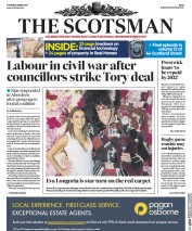 The Scotsman (UK) Newspaper Front Page for 18 May 2017