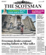 The Scotsman front page for 18 May 2020