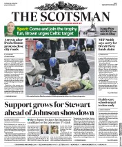 The Scotsman (UK) Newspaper Front Page for 18 June 2019