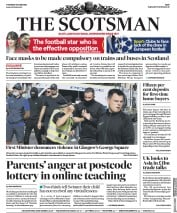 The Scotsman front page for 18 June 2020