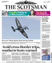 The Scotsman front page for 18 September 2020