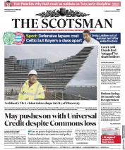 The Scotsman (UK) Newspaper Front Page for 19 October 2017