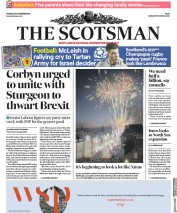 The Scotsman (UK) Newspaper Front Page for 19 November 2018