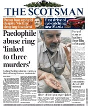 The Scotsman (UK) Newspaper Front Page for 19 December 2014