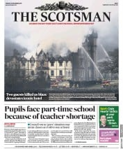 The Scotsman (UK) Newspaper Front Page for 19 December 2017