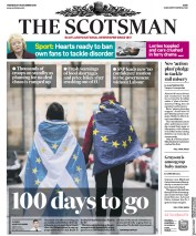 The Scotsman (UK) Newspaper Front Page for 19 December 2018