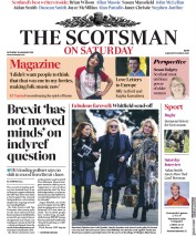The Scotsman (UK) Newspaper Front Page for 19 January 2019
